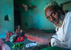 Harari men chewing khat inside an old house, Harari Region, Harar, Ethiopia (Eric Lafforgue) Tags: adults africa african amphetamine awsofiyahyaawach cathaedulis chewing colourimage culture day eastafrica ethiopia ethiopia180111 ethiopians green harar hararjugol harari harariregion harer horizontal hornofafrica indoors islam kat khat lyingdown men menonly muslim muslims qat religion senioradult sufi sufism togetherness traditional travel twopeople unescoworldheritagesite et