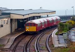Island Line 423 006 at Ryde Esplanade (Alex-397) Tags: iow isleofwight england britain island uk train transport tube londonunderground islandline class483 1938stock travel