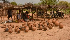 Tsemay Tribe Pottery (Rod Waddington) Tags: africa african afrika afrique ethiopia ethiopian etiopia omovalley omo tsemay tribe tribal traditional pottery market valley craft handmade culture cultural