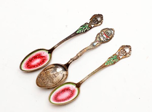 26-pieces of Black Americana spoons totaled ($952)