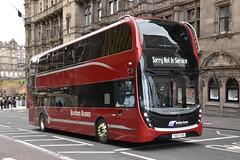 Borders Buses - YX67UZB (Transport Photos UK) Tags: bordersbuses adldemonstrator alexanderdennise400mmc adl alexanderdennis scotland edinburgh transportphotosuk adamnicholson adamnicholsontransport photos uk transport