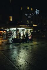 Giornali (matteoguidetti) Tags: night lights colors neon city urban people notte città sera riflessi reflection luci edicola giornali centrocittà parma urbanphotography streetphotography