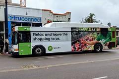 MTS Bus (So Cal Metro) Tags: 800 bus820 rt2 downtown broadway bus metro transit mts sandiegotransit sandiego gillig advantage lowfloor shipt wrap ad advertising promotion marketing