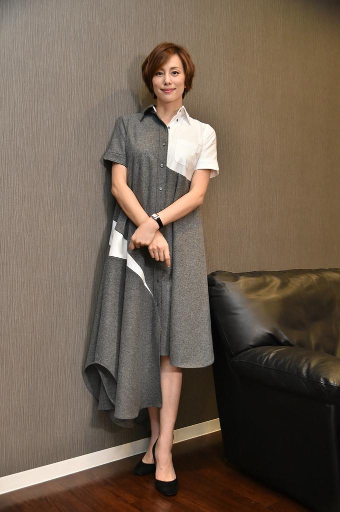 米倉涼子接受KKTV獨家專訪,分享拍攝甘苦