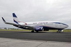 5N-BQQ  B737-524(WL)  Air Peace (n707pm) Tags: 5nbqq b737 boeing 737 737wl airport airplane aircraft airline einn coclare ireland airpeace snn 14102014 cn27533 shannonairport delivery rineanna