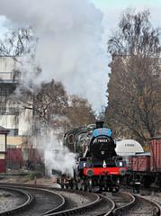 Running Round In Green (2) (Neil Harvey 156) Tags: steam steamloco steamengine steamrailway railway 78022 keighley keighleyworthvalleyrailway kwvr worthvalleyrailway brstandardclass2 brstandardloco brgreen riddles