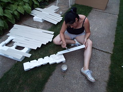 A bit of summer DIY..... (sean and nina) Tags: nina diy summer july 2018 kitchen painting work working hot heat warm sunny shorts black top spaghetti straps trainers legs arms bare skin tan tanned sun brunette brown hair eyes pink lips neck throat face shoulders workins candid people person woman female girl lady girlfriend fiancee wife married beauty beautiful gorgeous stunning charm cute croatian serb croatia hrvatska eu europe european balkan balkans outdoor outside mobile phone