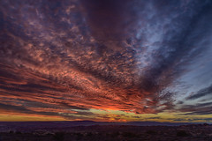 Sundown in Arches National Park (jbarc in BC) Tags: sunset sundown moab archesnationalpark night evening utah nikonz7 fire orange desert mountains sky clouds explore