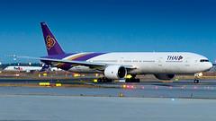 Boeing 777-3AL(ER) HS-TKO Thai Airways International (William Musculus) Tags: airport spotting plane fraport frankfurt am rhein main frankfurtmain fra eddf hstko thai airways international boeing 7773aler tha 777300er tg william musculus