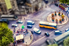 toy city (-liyen-) Tags: tiltshift photoshop fujixt1 urban city toycity toyland miniature fakeminiature mpt679 matchpointwinner