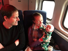 "Mommy and Daddy with Sam on the Polar Express • <a style=""font-size:0.8em;"" href=""http://www.flickr.com/photos/109120354@N07/45527619175/"" target=""_blank"">View on Flickr</a>"