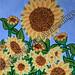 """A Sunshine Garden of Sunflowers"" by Beva C, acrylic, $50.00"