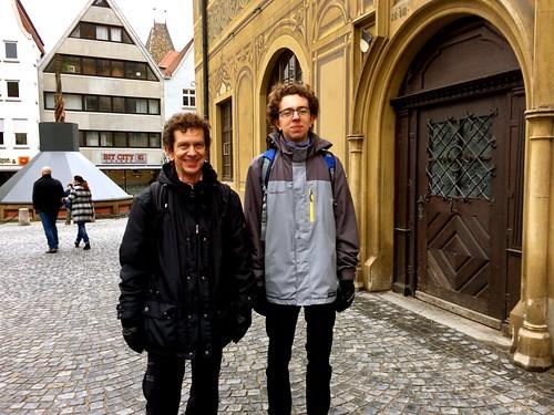 Father & son, Joachim & Kenan, Ulm, Photo by CRudin