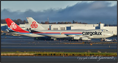 LX-VCV and LX-VCK Cargolux Airlines Inyernational (Bob Garrard) Tags: lxvcv lxvck cargolux airlines inyernational boeing 747 anc panc