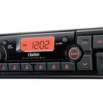 建機向け防滴ラジオの写真