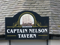 Pub Sign - Captain Nelson Tavern, South Quay, Maryport 180923 (maljoe) Tags: maryport pubsign pubsigns inn inns pub pubs tavern taverns publichouse