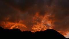 Burning Sky Staffen Einöder Berg (Aah-Yeah) Tags: burning sky sonnenuntergang sunset abendrot einöder berg grassau achental chiemgau bayern staffen