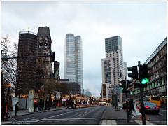 City West (magritknapp) Tags: citywest hochhäuser haus kirche strase autos weihnachtmarkt skyscrapers house church street cars christmasmarket