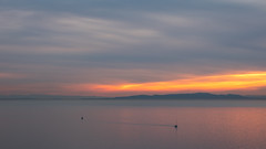 White rock sunset (Brian.Schick) Tags: white rock vancouver sunset minimalism abstract