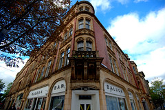 Corner of Miller Arcade in Preston (Tony Worrall) Tags: preston lancs lancashire city welovethenorth nw northwest north update place location uk england visit area attraction open stream tour country item greatbritain britain english british gb capture buy stock sell sale outside outdoors caught photo shoot shot picture captured ilobsterit instragram architecture building millerarcade eats cafe corner victorian tall shops