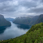 View from Stegastein into Aurlandsfjorden thumbnail