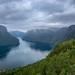 View from Stegastein into Aurlandsfjorden