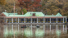 The Loeb Boathouse on the Lake, Central Park, New York City (jag9889) Tags: 2018 20181112 architecture boat boathouse building cp centralpark house landmark loeb manhattan ny nyc nycparks newyork newyorkcity outdoor park people reflection restaurant rowboat ship thelake usa unitedstates unitedstatesofamerica vessel water jag9889