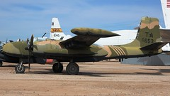 "Douglas On Mark B-26K (""A-26A"") Counter Invader (A-26B Invader) 64-17653 in Tucson (J.Comstedt) Tags: aircraft flight aviation aeroplane museum airplane us usa planes pima space tucson az douglas mark a26 b26 usaaf 4139378 usaf 6417653 air johnny comstedt"