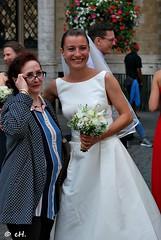 Street portrait (Els Herten) Tags: portrait wedding bride people brussels city belgium grandplace gown natgeofacesoftheworld