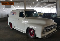 1955 Ford (bballchico) Tags: 1955 ford paneltruck ownercowboy grandnationalroadstershow carshow