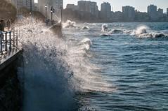 Olas en Gijón 3 (ccc.39) Tags: asturias gijón costa ola mar cantábrico marejada espuma playa paseomarítimo ciudad beach wave city