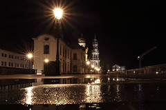 Terrassenufer Dresden (_dankhn) Tags: dresden germany night nigthlights sachsen saxony nightshot lights city