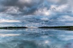 Cloudy Start (Peter Quinn1) Tags: clonakilty countycork westcork ireland causeway reflection cloudyday dawn autumn sea atlanticocean irelandswildatlanticway cloudscape clonakiltybay