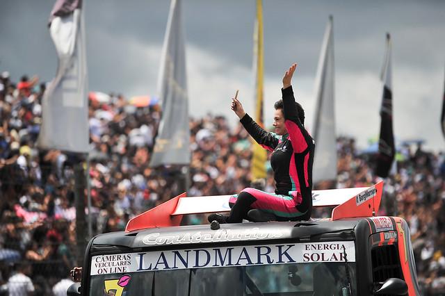 02/12/18 - Desfile dos pilotos da Copa Truck em Curitiba - Fotos: Duda Bairros