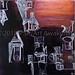 """Come In"" by Lori R, acrylic, $40.00"