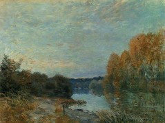 Soleil couchant (Sisley) (photopoésie) Tags: sisley 1875 bougival