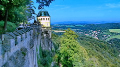 Saxony, Königstein Castle (gerard eder) Tags: world travel reise viajes europa europe germany deutschland alemania saxony saxonia sachsen königstein königsteincastle castle castillo burg landscape landschaft paisajes panorama natur nature naturaleza outdoor
