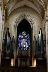 Kircheninnenraum (urmeline) Tags: ulm münster gotik baustil kirchen evangelisch