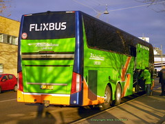 Flixbus Van Hool 184 AT70501 loads in Christmas Eve sunshine (sms88aec) Tags: flixbus van hool 184 at70501 loads christmas eve sunshine