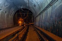 2 tunnels (nocturnal.visions) Tags: train tunnels trespassing live rail explore railways nsw night explorer canon photography trains tracks hiking wandering urban exploring australia sydney dark