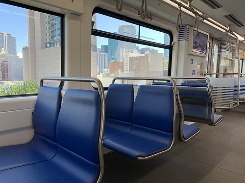New Metromover Car  Miami