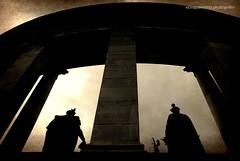 Heroes (Ecinquantotto (+ 1.890.000 views !!! GRAZIE) Tags: architettura architecture art arte abstract budapest colori colors d3000 dreams dream eroi hungarian heroes marmo nikon ombre ungheria nuvole