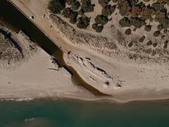 Vista dall'alto della foce del fiume Galaso (Marina di Ginosa) foto con drone DJI SPARK (antonio moro 1978) Tags: spark dji drone djispark djimavic djiair fiume spaiggia