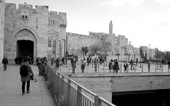 Jaffa Gate Jerusalem January 1, 2019 (Ilya.Bur) Tags: jaffagatejerusalemjanuary1 2019 nicca 3s voigtlander skopar 35mm f25 fujifilm acros 200 developed caffenolcl
