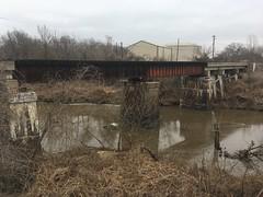 20190116-115419-4 (alnbbates) Tags: january2019 railroadbridge rockcreek sapulpa