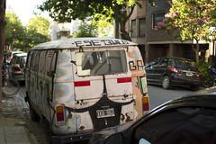 VW Kombi, Buenos Aires (Nicoa1988) Tags: street van argentina buenosaires nikon 35mm summer d3100