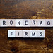 Brokerage firms stock photo