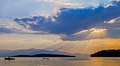 Morning Sunrise & Clouds -  Nidri Bay ( Lefkas - Greece) Canon EOS 7-D DSLR (markdbaynham) Tags: greece greek hellas hellenic lefkas lefkada grecia greka sky view canon canonite eos 7d eos7d canon7d apsc dslr landscape ionian island greekisland greekholiday