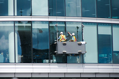 """080619_WindowCleaners_3 (hoffman) Tags: windowcleaners work outdoors office london working workers high cleaning maintenance safety davidhoffman davidhoffmanphotolibrary socialissues reportage stockphotos""""stock photostock photography"""" stockphotographs""""documentarywwwhoffmanphotoscom copyright"""
