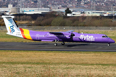 G-PRPM_01 (GH@BHD) Tags: gprpm bombardier dehavilland dhc dhc8 dhc8402q dasheight be bee flybe bhd egac belfastcityairport aircraft aviation airliner turboprop